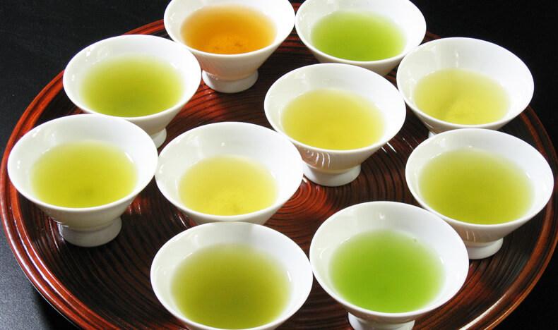 日本のお茶いろいろ