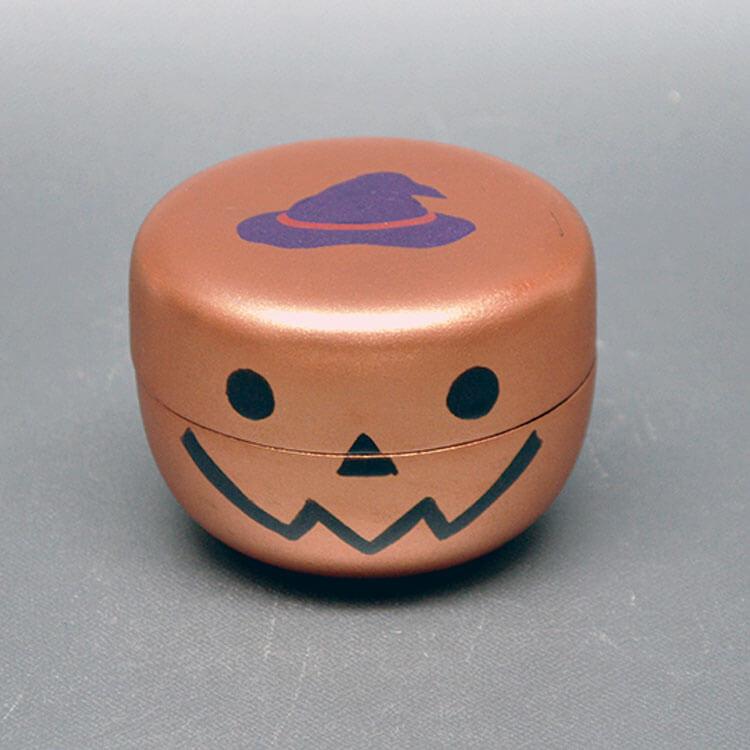 ジャック・オー・ランタン柄の茶器