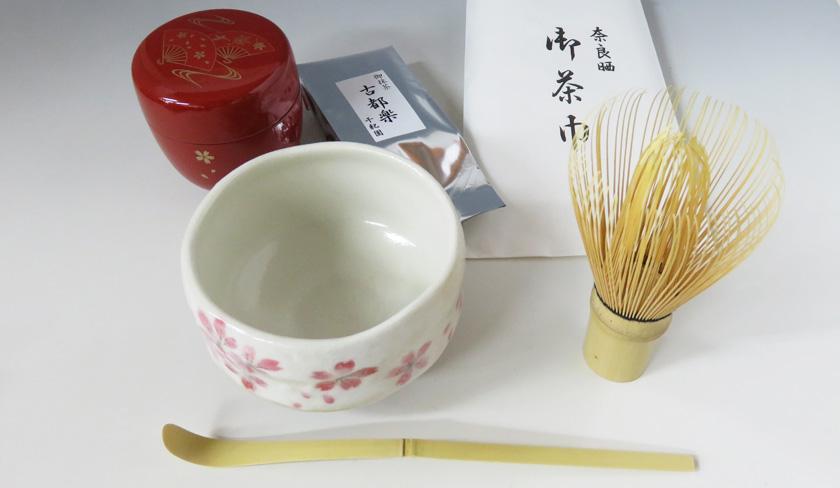 抹茶を楽しみましょう