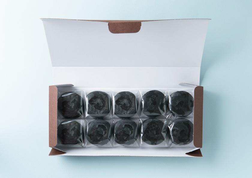パッケージを開くとひとつひとつ丁寧に個包装されております。抹茶スイーツ