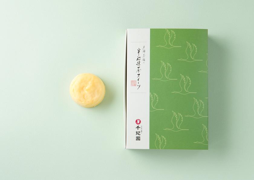 老舗お茶屋千紀園(せんきえん)の濃いチーズケーキ