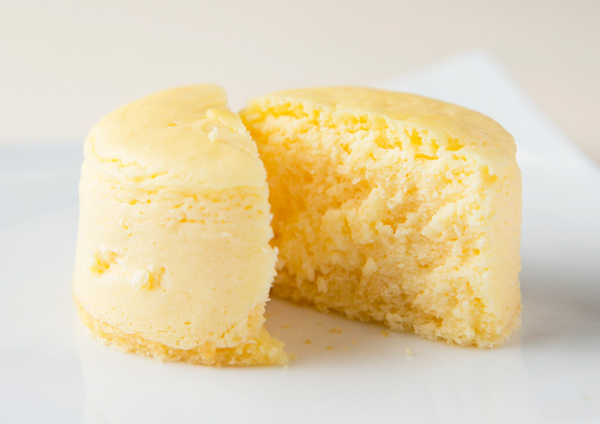 老舗お茶屋千紀園(せんきえん)のクリームチーズケーキはニューヨークチーズケーキ風の濃厚さが人気