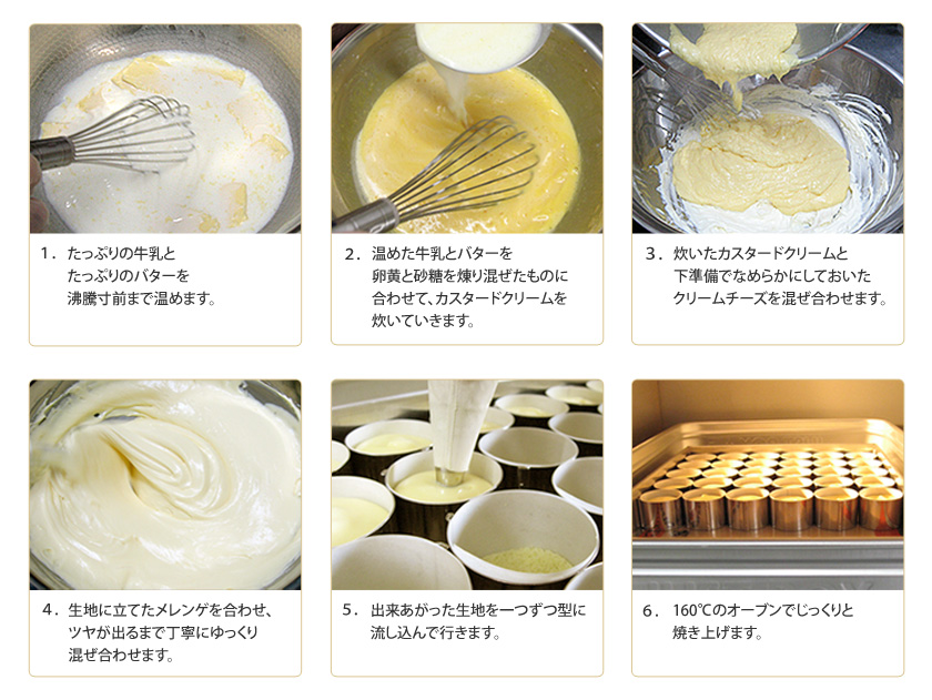 濃いクリームチーズケーキの作り方