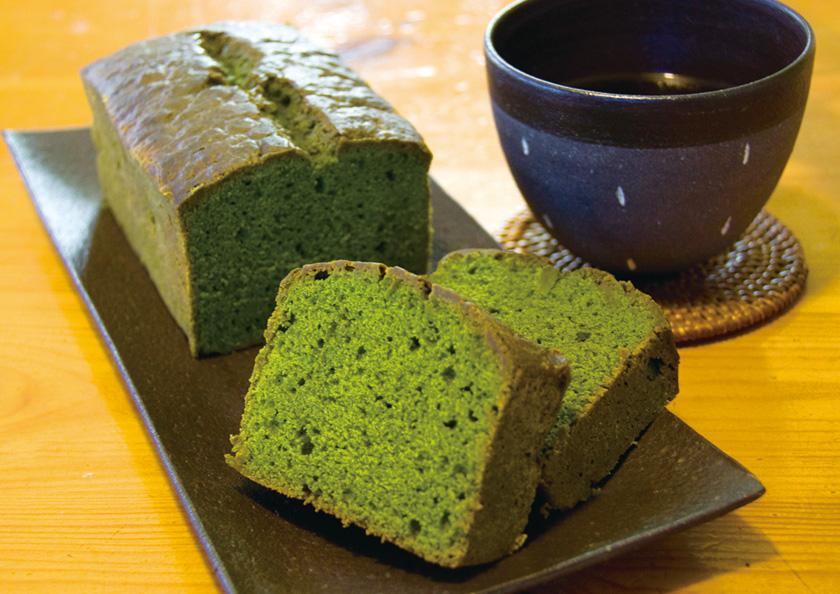 京都宇治抹茶パウンドケーキ