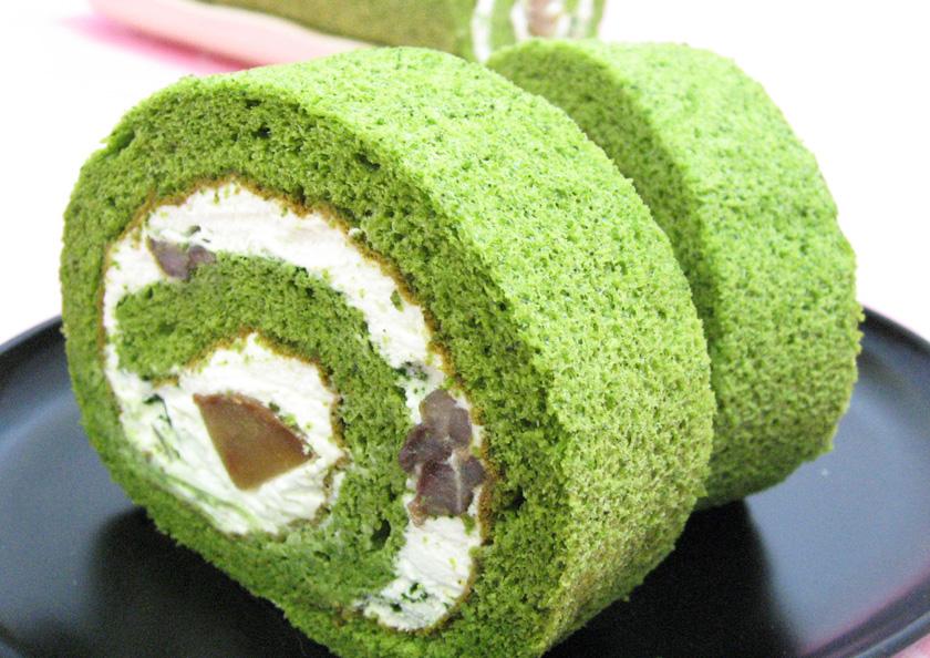 京都宇治抹茶を贅沢に使用した宇治抹茶ロールケーキを製造できるのはお茶屋 千紀園(せんきえん)ならではの強み