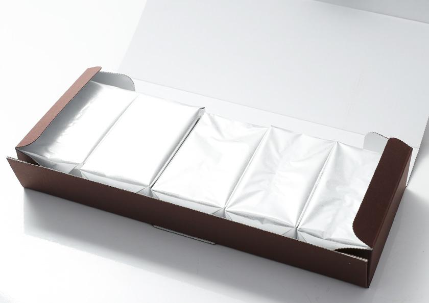 パッケージを開くとひとつひとつ丁寧に個包装されております