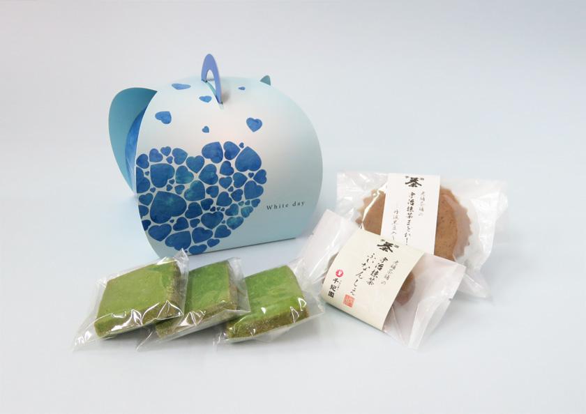 ホワイトデーに京都宇治抹茶を贅沢に使用した宇治抹茶焼き菓子はいかがでしょうか