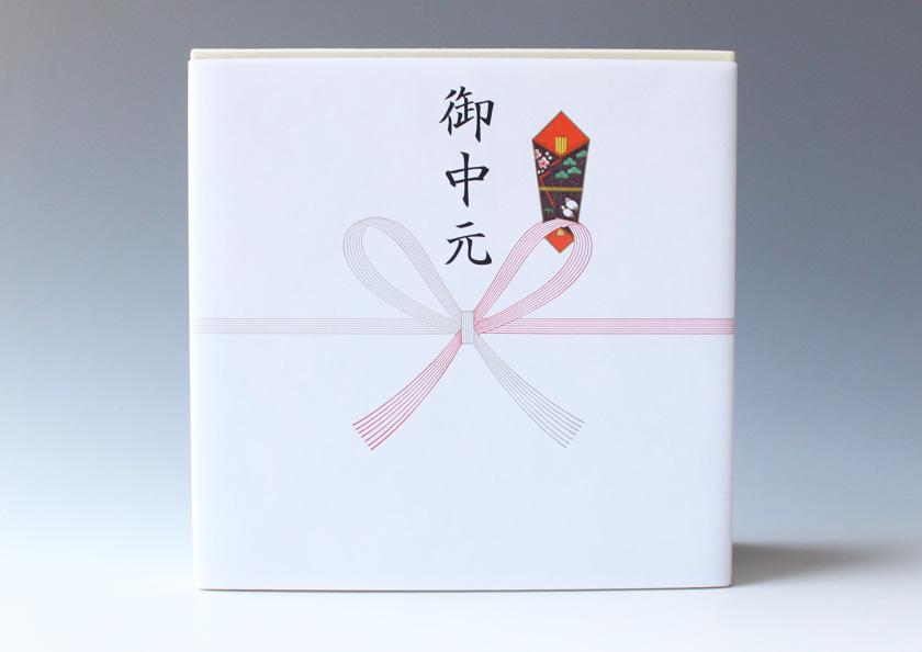 宇治抹茶ゼリー4個詰合せ ギフト箱 お中元 掛け紙(熨斗)